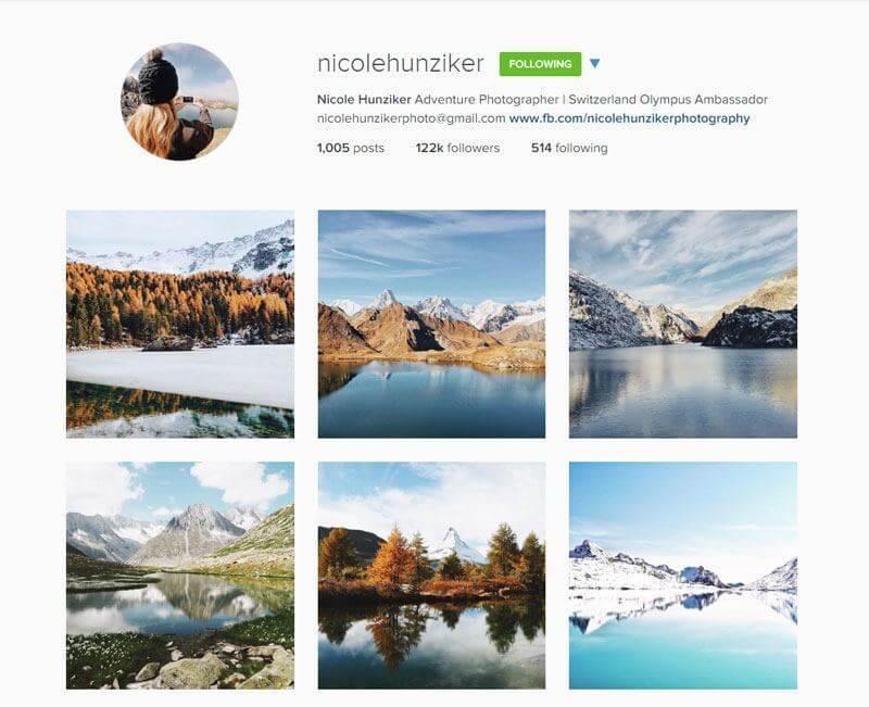 Swiss Instagrammers - nicolehunziker
