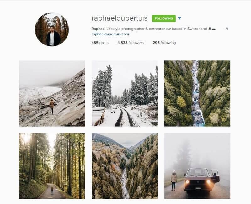 Swiss Instagrammers - raphaeldupertuis