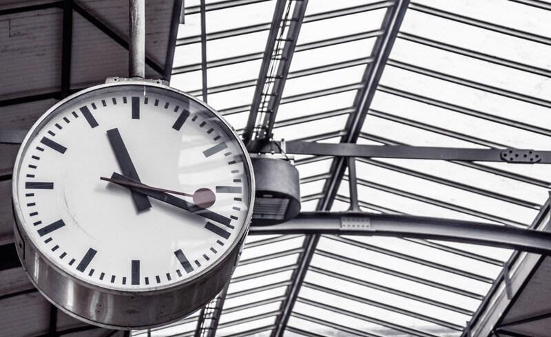 Swiss Station Clock