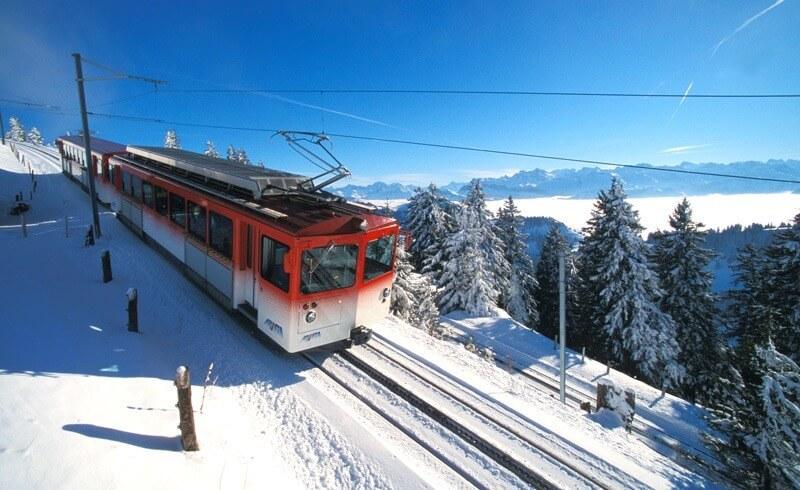 Mount Rigi - Train