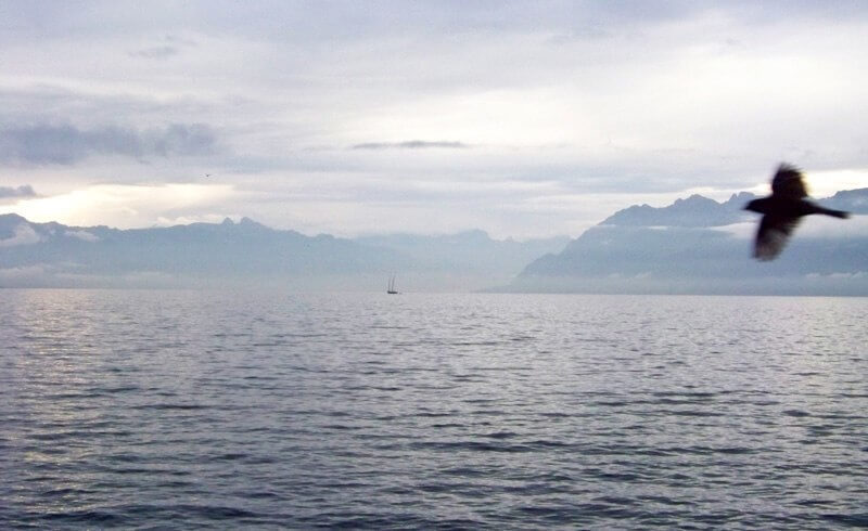 Lake Geneva Commuting by Boat