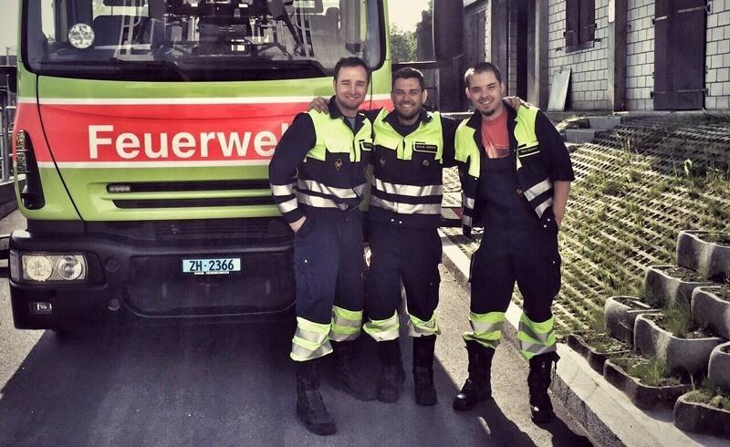 Swiss Fire Brigade Greifensee