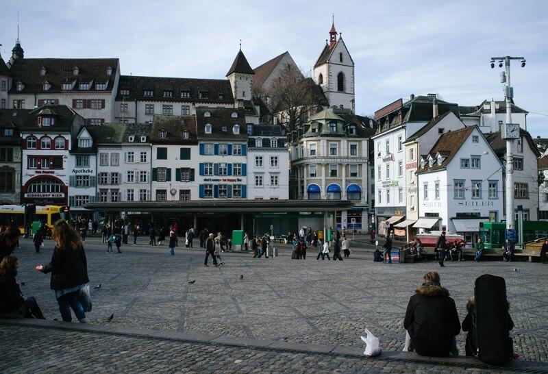Basel Barfuesserplatz