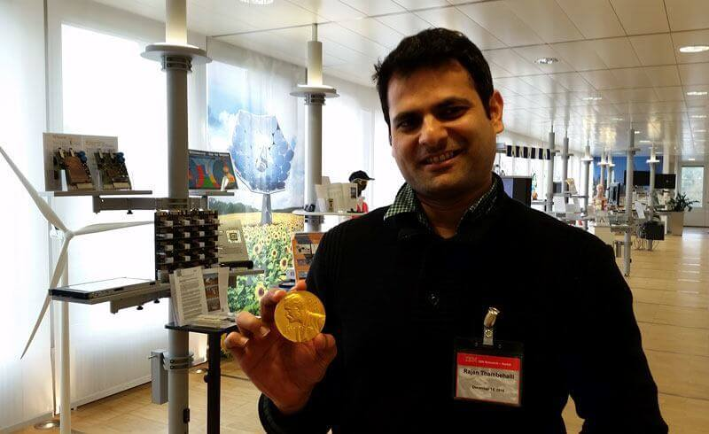 Rajan at IBM Research Zurich