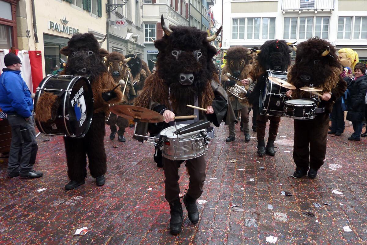 Luzerner Fasnacht - Buffalos