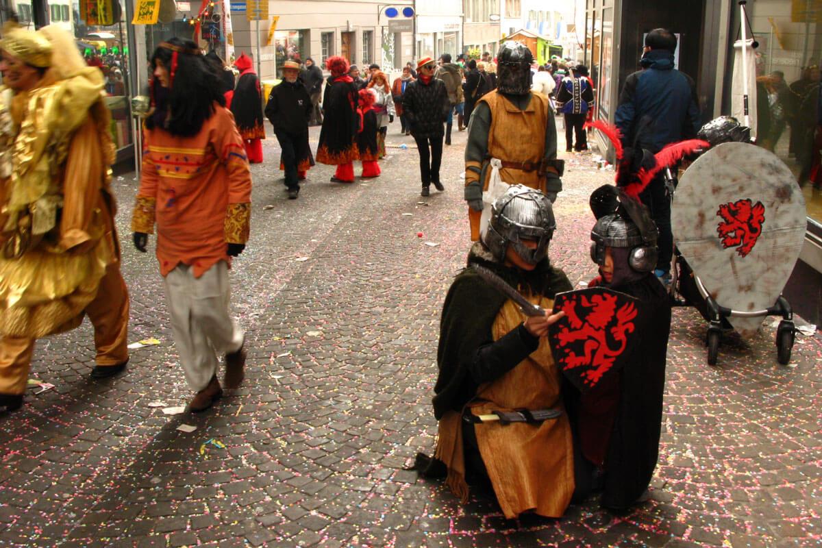 Luzerner Fasnacht - Medieval
