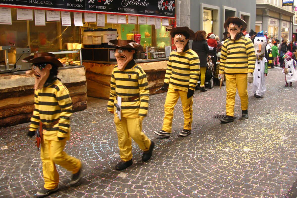 Luzerner Fasnacht - The Daltons