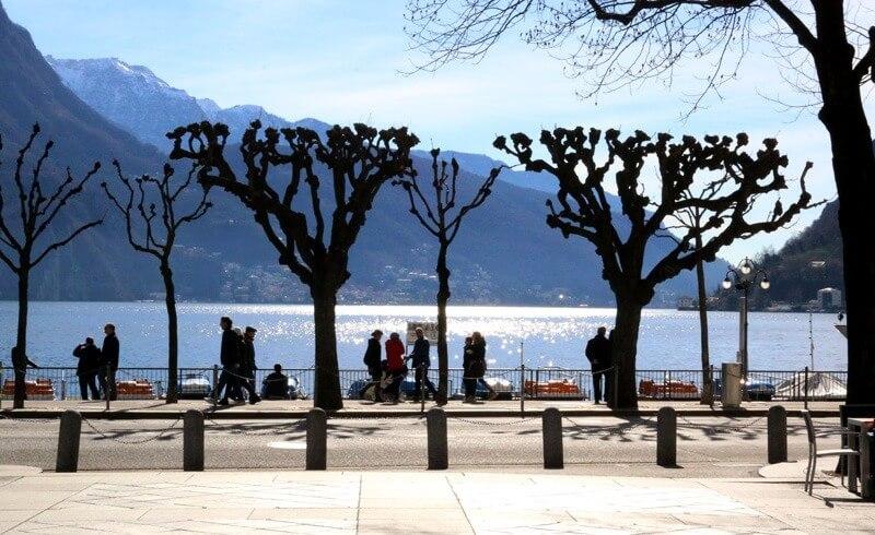 Lugano in Spring
