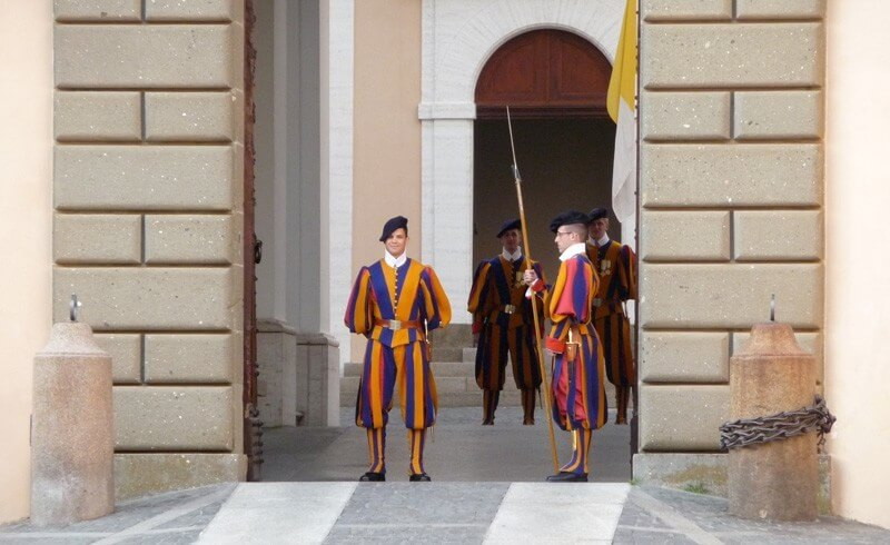 Pontificial Swiss Guards - Castel Gandolfo