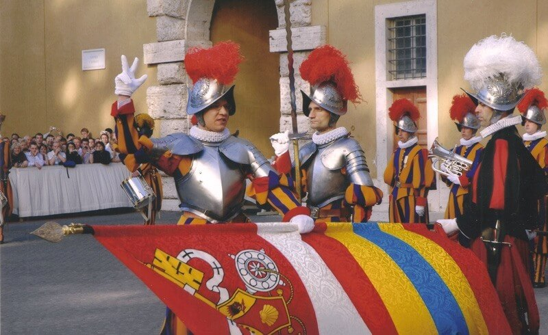 Pontificial Swiss Guards Swearing-in Ceremony 2005