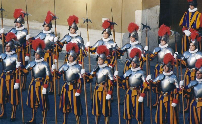 Pontificial Swiss Guards Swearing-in Ceremony