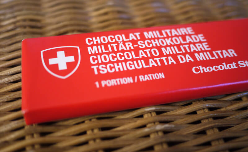 Swiss Army Chocolate