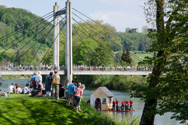 Mammoth Raft Race in Thurgau (2016)