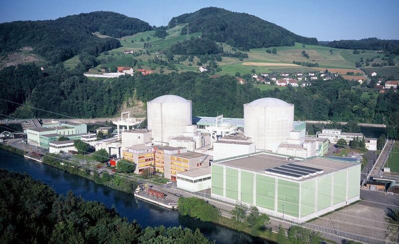 Beznau Nuclear Power Plant in Switzerland