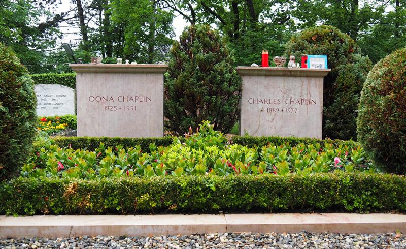 Charlie Chaplin Gravesite