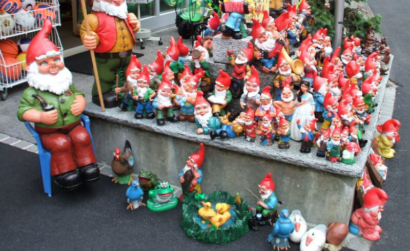 Garden Gnome Collection Switzerland