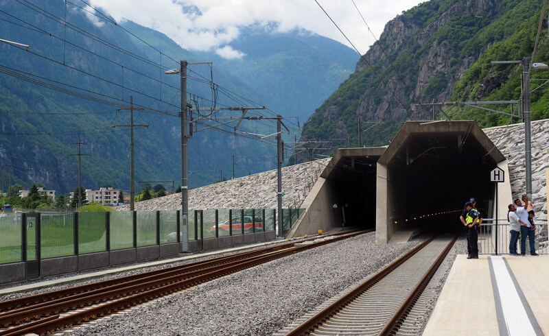 Gottardo 2016 - Rail Tunnel