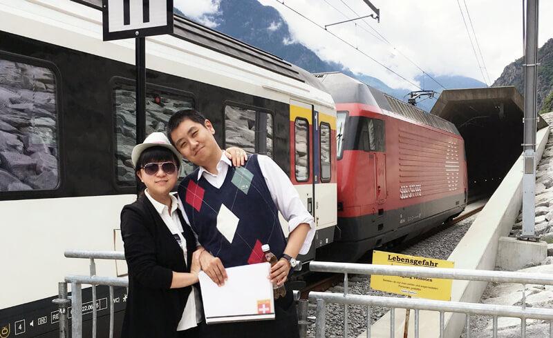 Gotthard Basistunnel David Feng