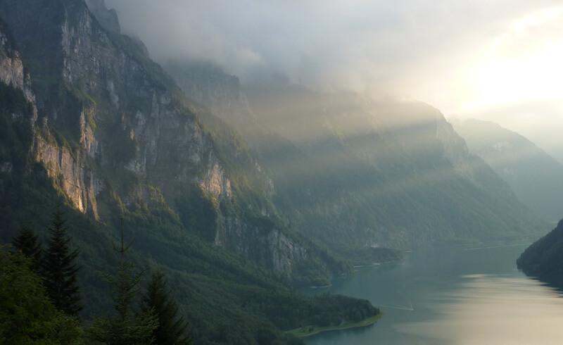 Kloentalersee Switzerland
