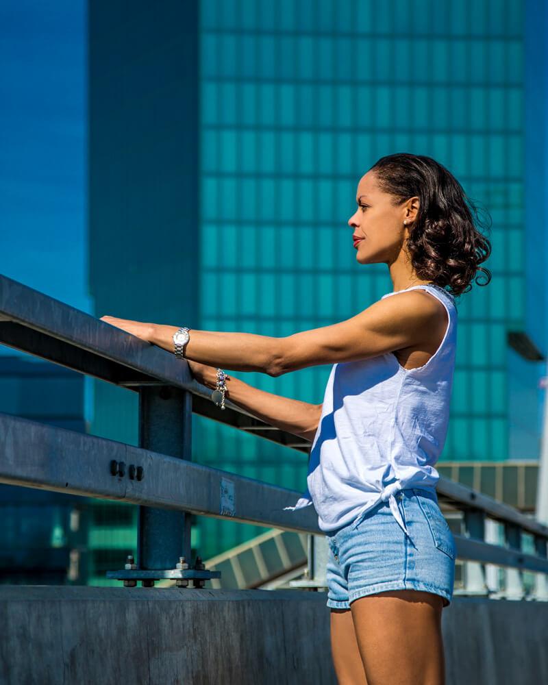 Myrna Kamara Ballerina by Nicole Rötheli