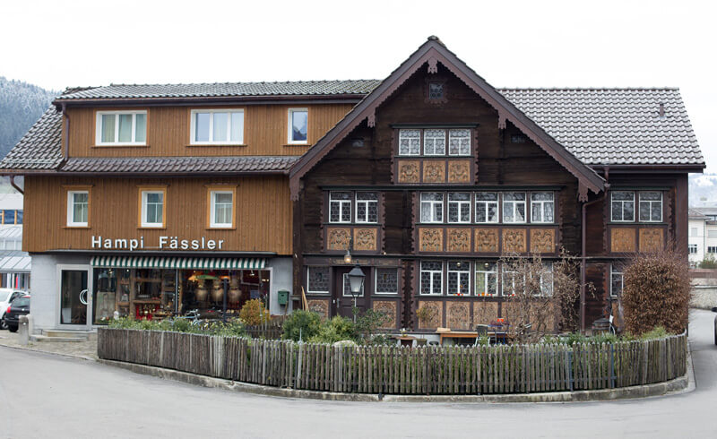 Typical Appenzell House