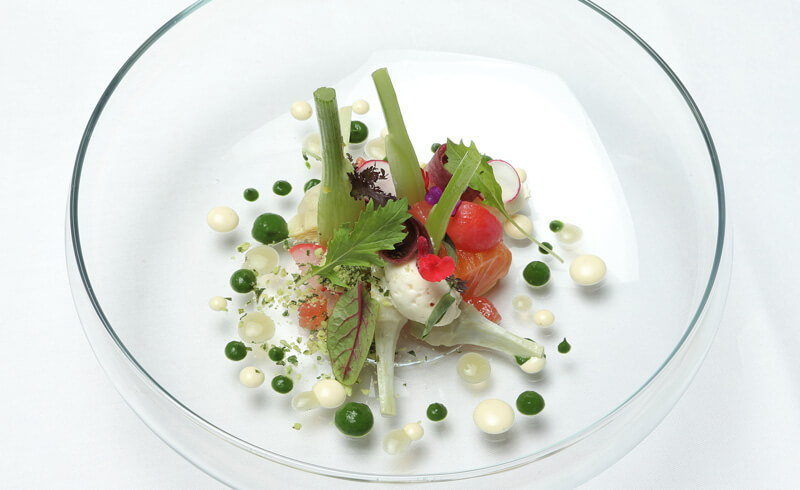 S.Pellegrino Young Chef - Dish by Anne Sophie Taurines