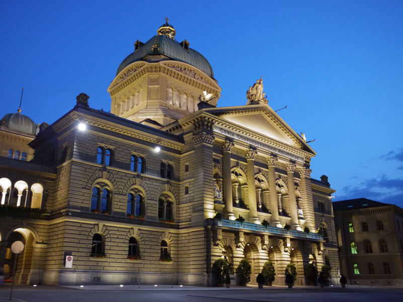 Swiss Icons - Bundeshaus Federal Palace