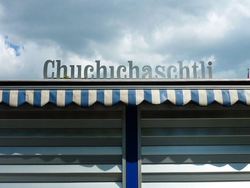 Swiss Icons - Swiss German Chuchichaeschtli