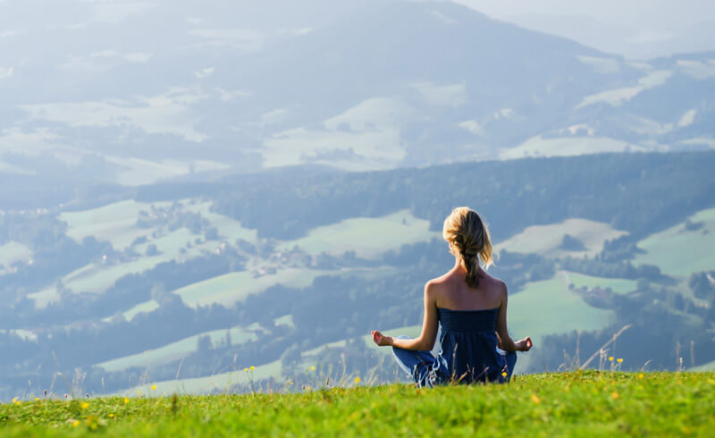Yoga in the Mountains - Gstaad Palace