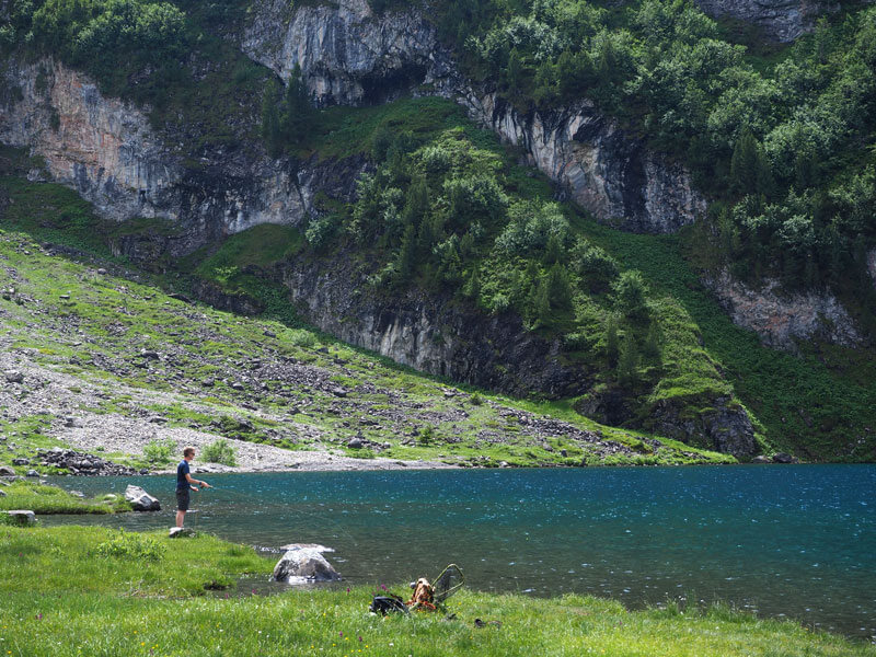 Fly Fishing in Switzerland
