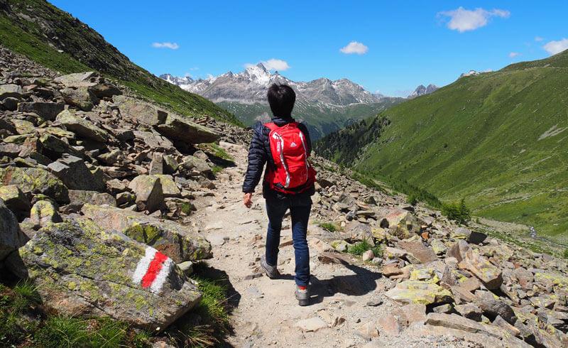 Panoramic Hike from Muottas Muragl to Pontresina