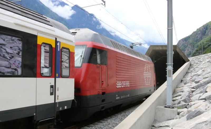 Gottardo Rail Tunnel