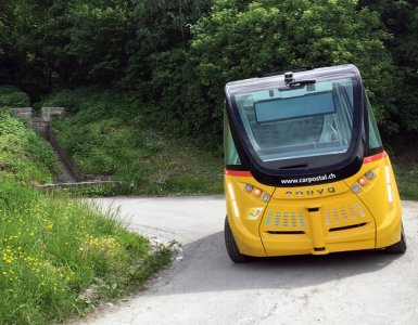 Sion SmartShuttle - Self-Driving Bus