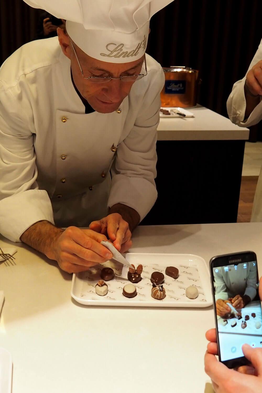 Chocolate Workshop at Lindt in Zürich