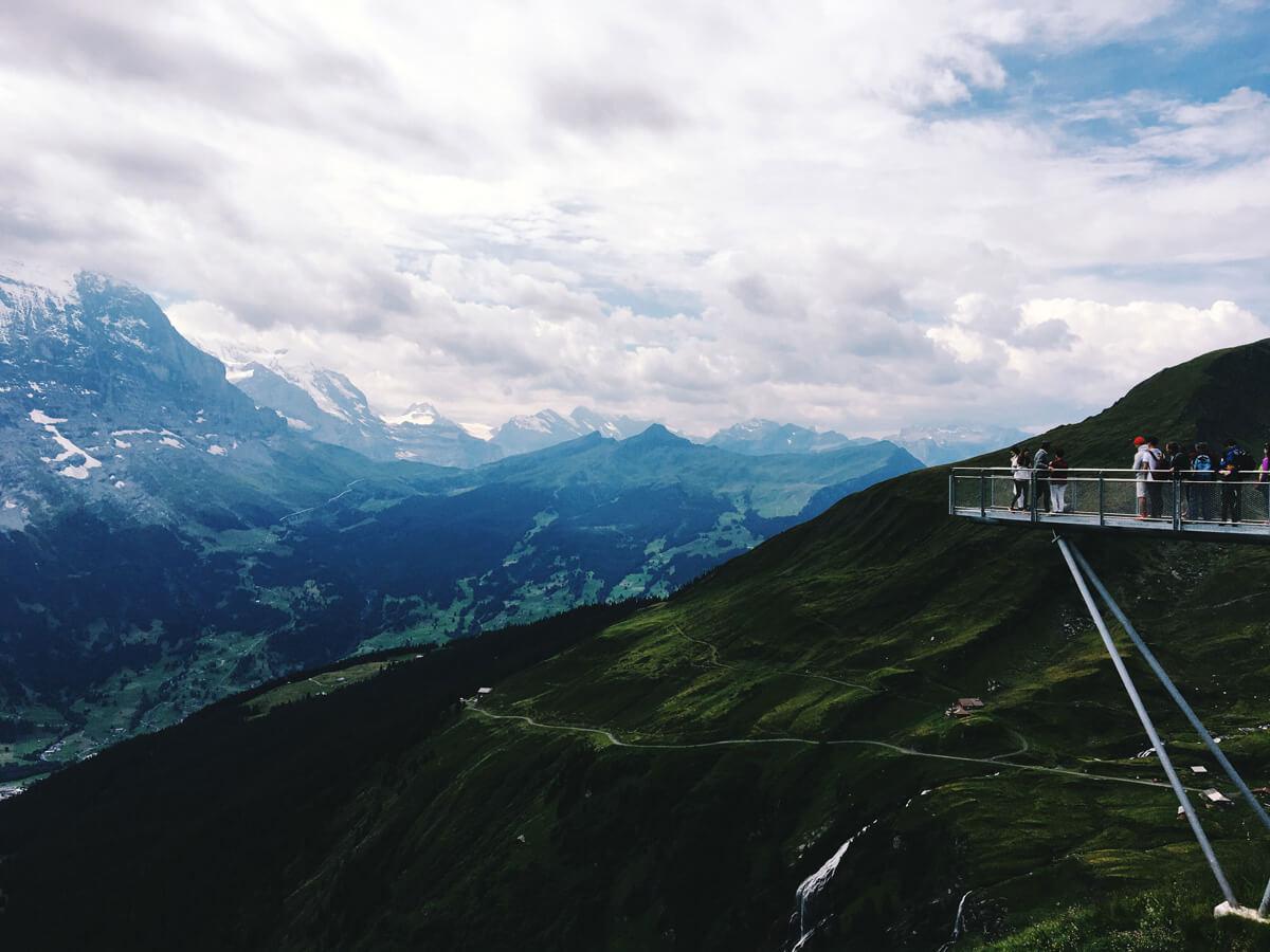 The Grindelwald Tissot Cliff Walk Platform