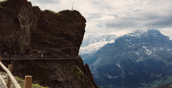 The Grindelwald Tissot Cliff Walk Platform