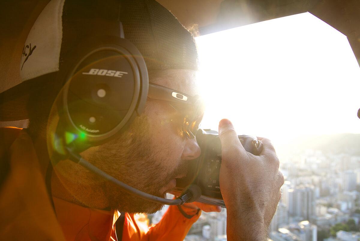Nico Schaerer - Photographer on the Job