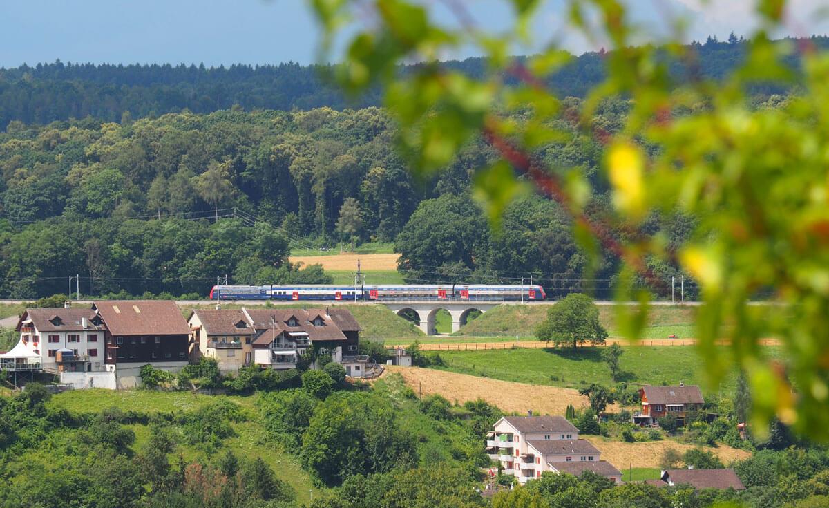 SBB Train near Schaffhausen