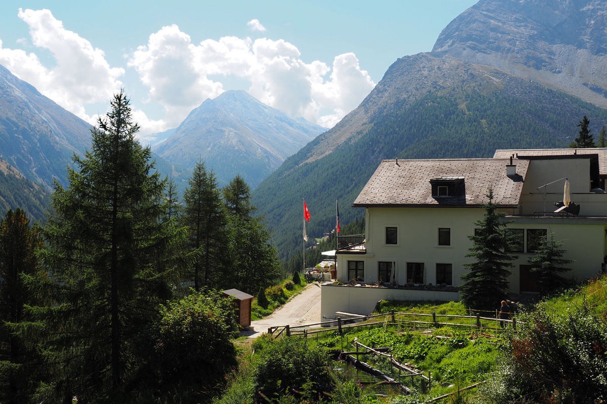 Saas-Fee - Waldhotel Fletschhorn