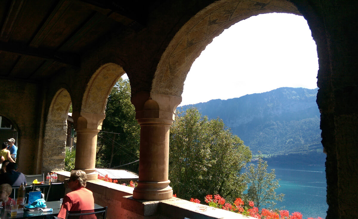 St. Beatus Caves in Beatenberg, Switzerland