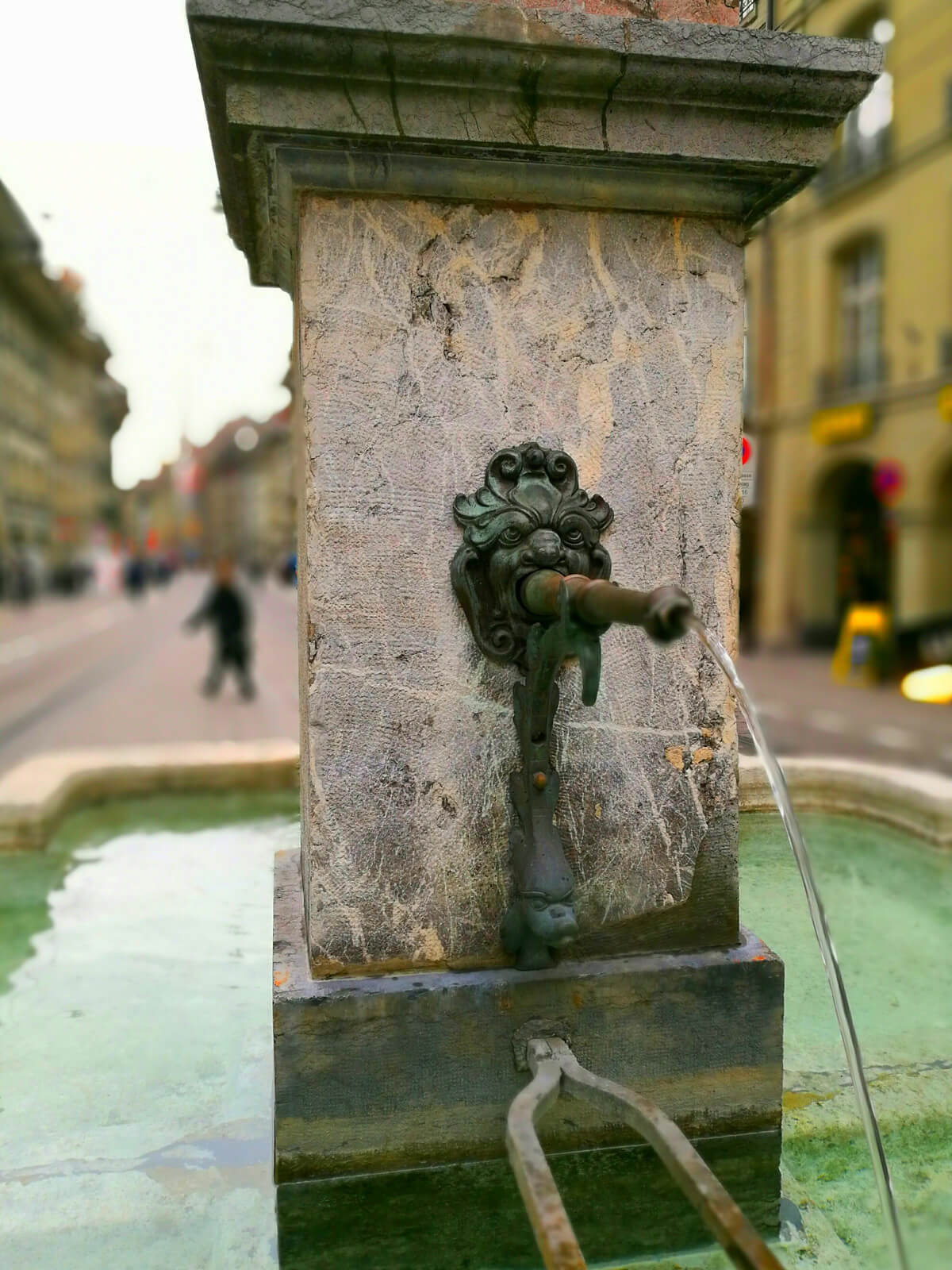 Fountain in Bern, Switzerland