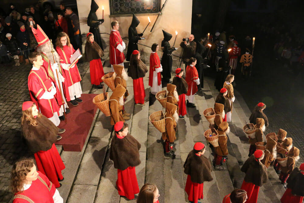 Luzern St. Nikolaus Auszug