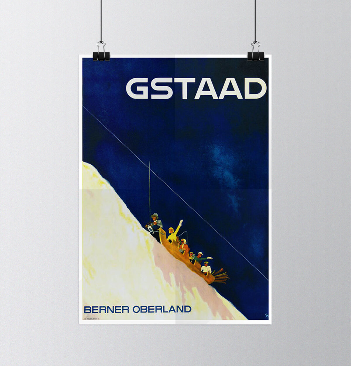 Tour of Switzerland - Vintage Posters - Gstaad