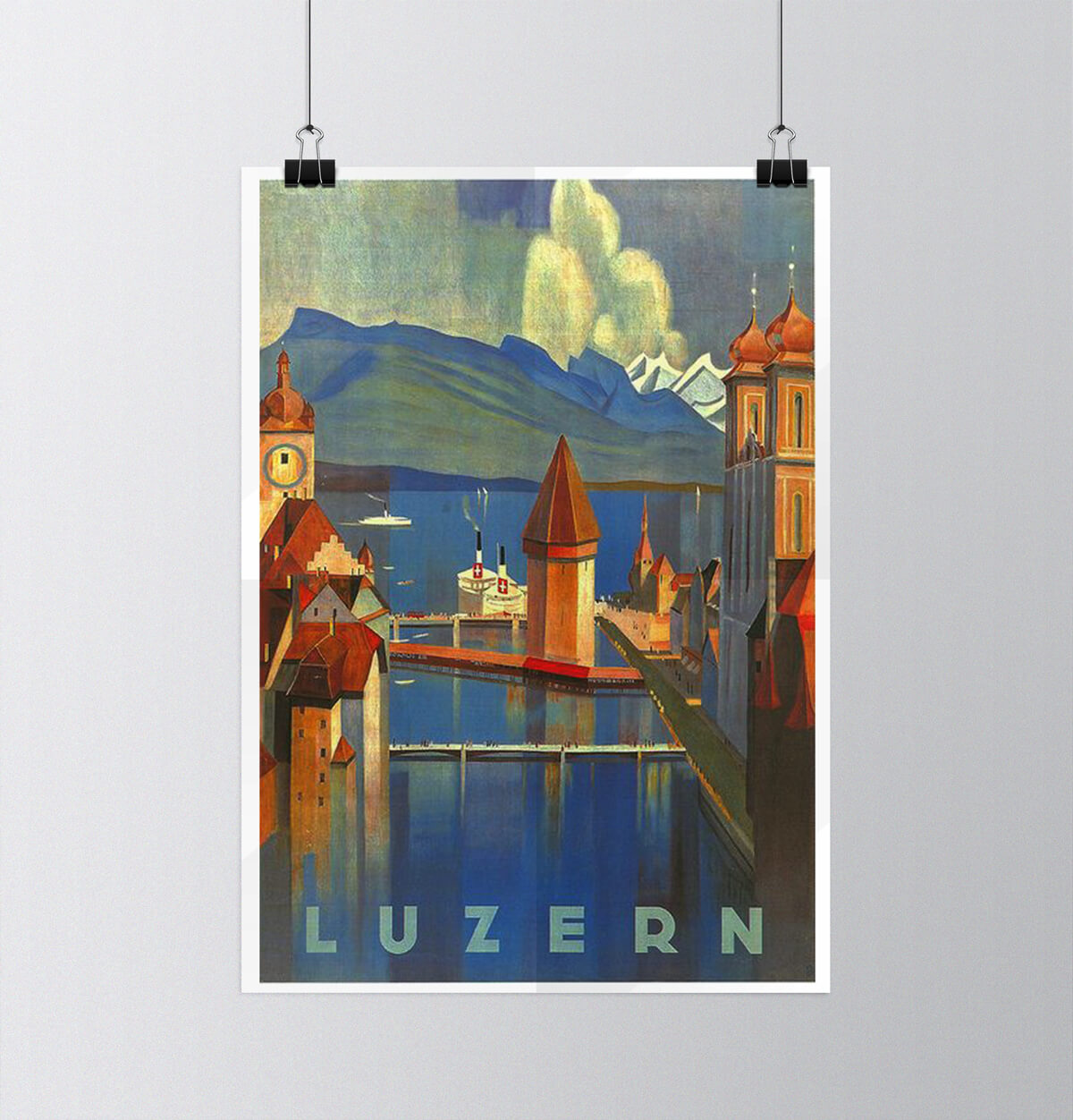 Tour of Switzerland - Vintage Posters - Luzern
