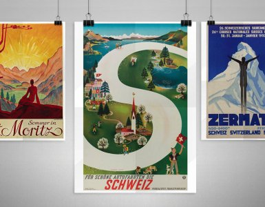 Tour of Switzerland - Vintage Posters