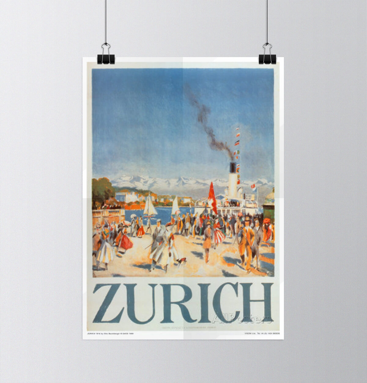 Tour of Switzerland - Vintage Posters - Zürich