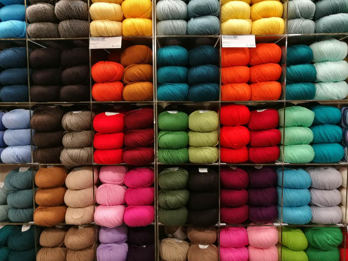 Wool Selection in Switzerland