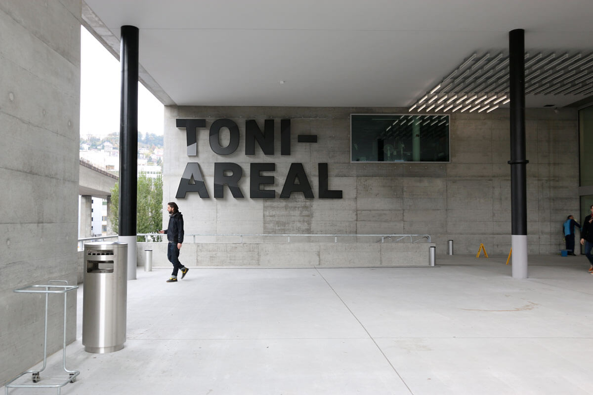 Zürich West - TONI Areal ZHdK
