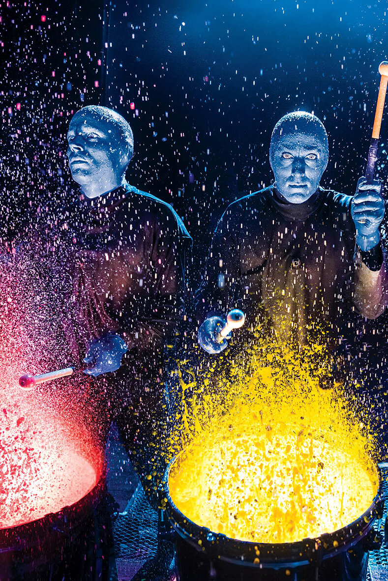 BLUE MAN GROUP is bringing new acts to Zürich