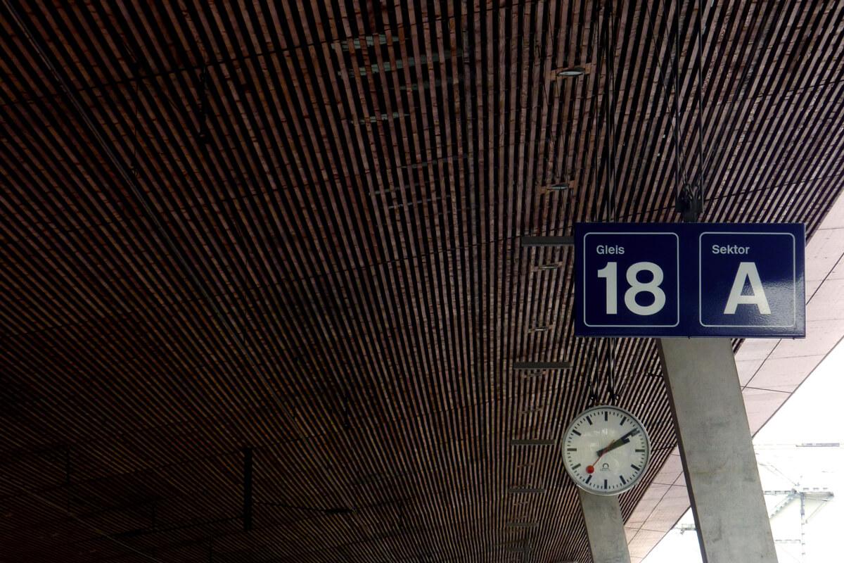 Mondaine Swiss Train Station Clock